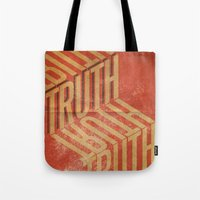 Finding Truth Tote Bag