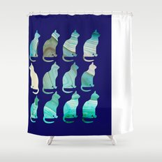 MINERAL CATTERN Shower Curtain
