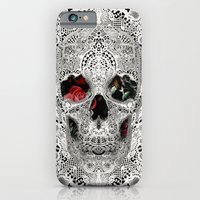 Lace Skull Light iPhone 6 Slim Case