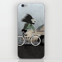 Alleycat Races iPhone & iPod Skin