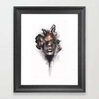 Portrait 16 Framed Art Print