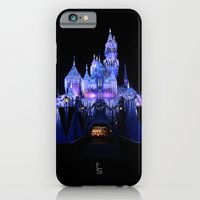 iPhone & iPod Case featuring Sleeping Beauty's Winter Castle by TS Photography