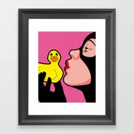 Tweety & Sylvester Framed Art Print