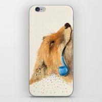 Fox V iPhone & iPod Skin