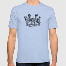 Venice Mens Fitted Tee Athletic Blue SMALL