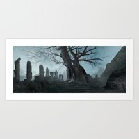 Ancient Tree Art Print