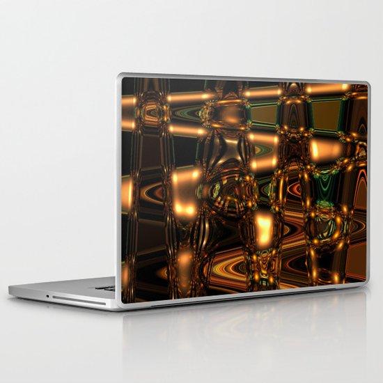 Abstract Series - Gleaming pattern Laptop & iPad Skin