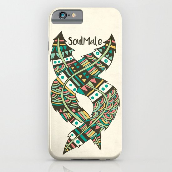 Soulmate Feathers iPhone & iPod Case
