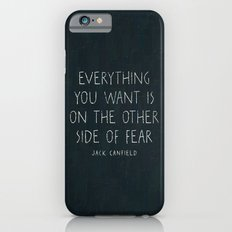 I. The other side of fear. iPhone 6 Slim Case