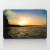 Sun on Big Platte iPad Case