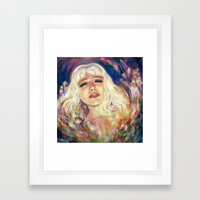 Fading Away Framed Art Print