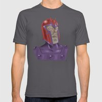 Magneto Mens Fitted Tee Asphalt SMALL