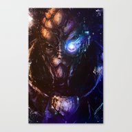 Canvas Print featuring I'm In The Middle Of S… by Vincent Vernacatola