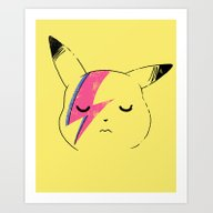 Art Print featuring Pika Stardust by Hillary White