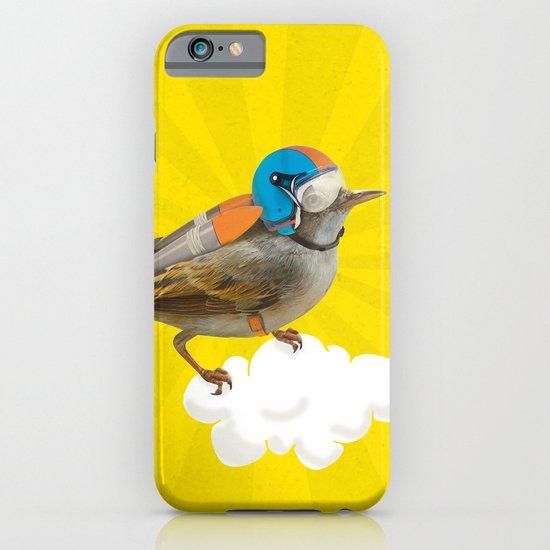Little bird on little cloud iPhone & iPod Case