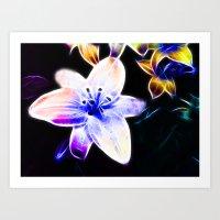 Fantasy Lily Art Print