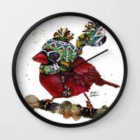 Cardinal Blaze 3 Wall Clock