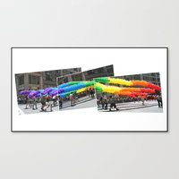 Gay Pride Parade 2011 Canvas Print