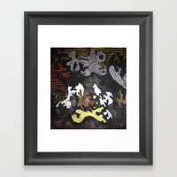 Quietly Loud Framed Art Print