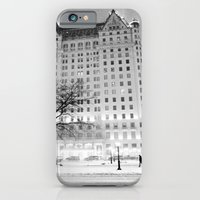 iPhone Cases featuring New York City Snow  by Vivienne Gucwa