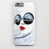 horses iPhone & iPod Cases featuring Wild Horses by anna hammer