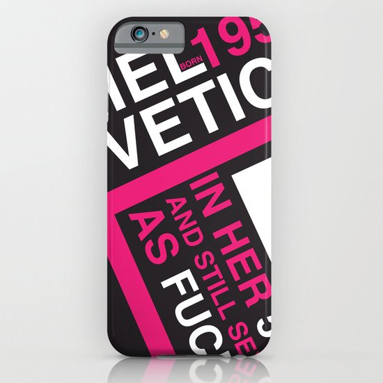 Helvetica: Born 1957 iPhone & iPod Case