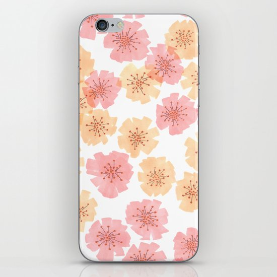 Pink Cherry Blossom  iPhone & iPod Skin