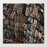 Viking Tribal Canvas Print