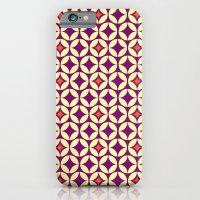 Repeated Retro - Purple iPhone 6 Slim Case
