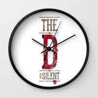Django - The D Is Silent Wall Clock