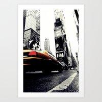 Time Square Art Print