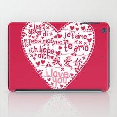 Te Amo iPad Case