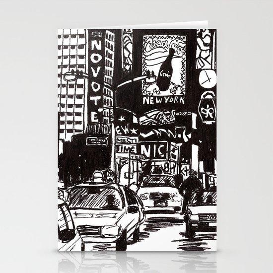 New York New York Stationery Card