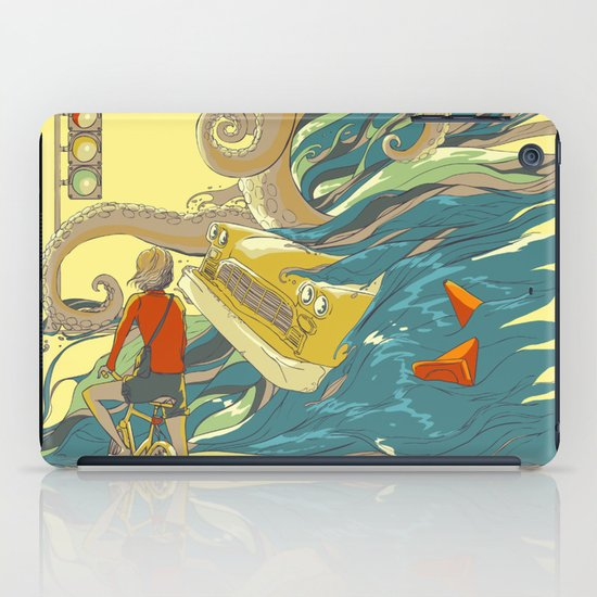 Traffic Monday iPad Case