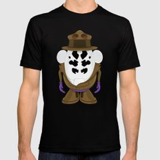 Mr Potato R. SMALL Mens Fitted Tee Black