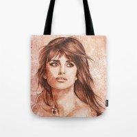 Penelope Cruz Tote Bag