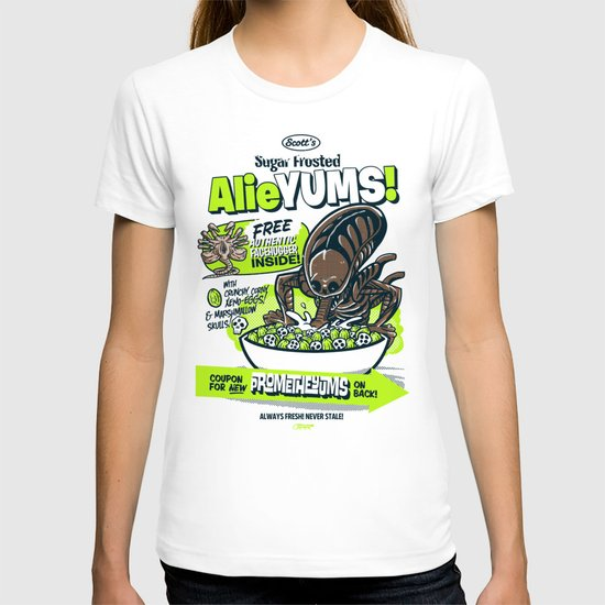 AlieYUMS! (blue variant) T-shirt