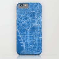 Los Angeles Street Map iPhone 6 Slim Case