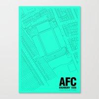Highbury - It's Arsenal Around Here Canvas Print