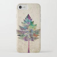 city iPhone & iPod Cases featuring Like a Tree 2. version by Klara Acel