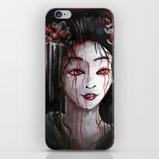 Geisha in Blood: The unwiling Concubine iPhone & iPod Skin
