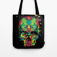 HowlinSkull Tote Bag