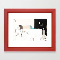 Forgive Yourself And Mov… Framed Art Print