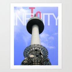 To Infinity Art Print