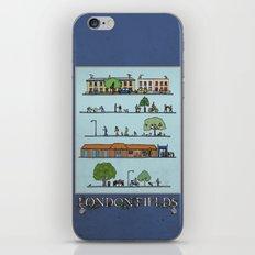 London Fields iPhone & iPod Skin