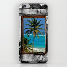 WINDOW ON PARADISE iPhone & iPod Skin