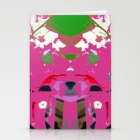 Green Anole Stationery Cards