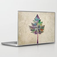 city Laptop & iPad Skins featuring Like a Tree 2. version by Klara Acel