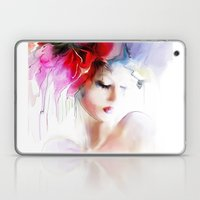 Woman Spring Laptop & iPad Skin