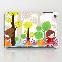 little red riding hood iPad Case